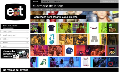 El armario de la tele, tienda online de moda