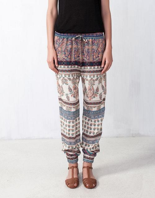 Pantalones beduino de Pull&Bear: comodidad en estado puro
