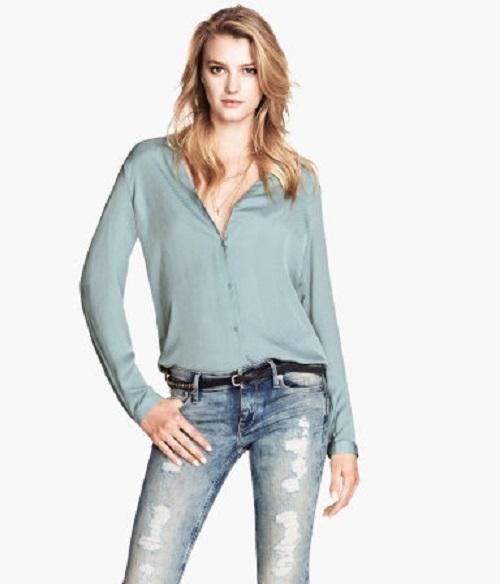 Las mejores blusas las encontrarás en H&M