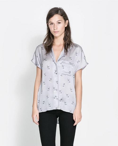 Las blusas de Zara más actuales