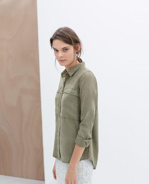 Zara y sus camisas TRF