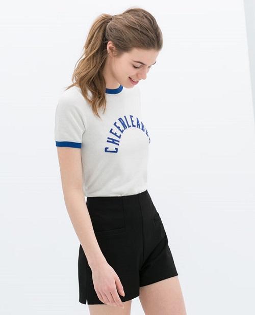 Zara y sus nuevas camisetas. Descúbrelas