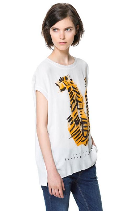Nuevas camisetas de manga corta de Zara
