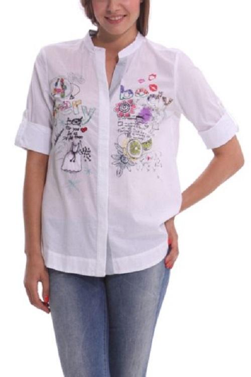 Las camisas y blusas de Desigual que marcan tendencia