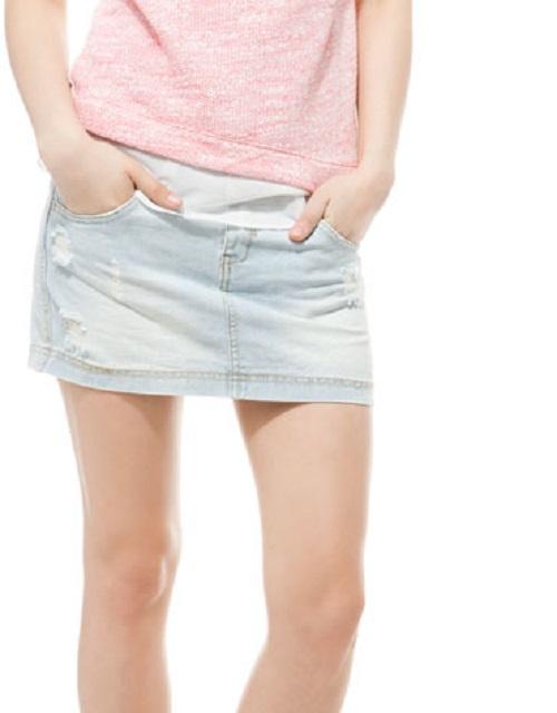 Siéntete femenina y atractiva con las nuevas faldas de Bershka