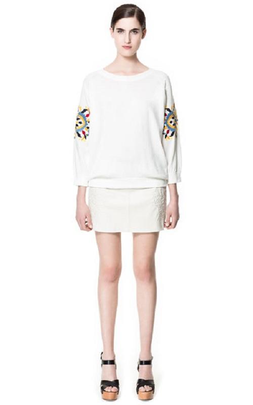 Nuevas faldas de Zara