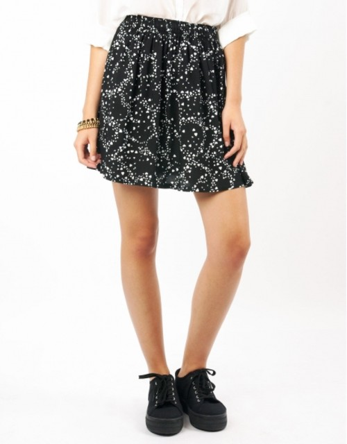 Las faldas de Shana