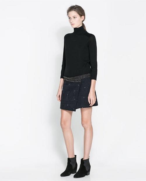 Zara y sus nuevas faldas