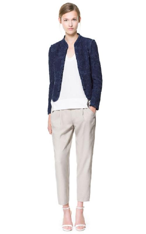 Chaquetas y blazers, protagonistas de la nueva colección de Zara