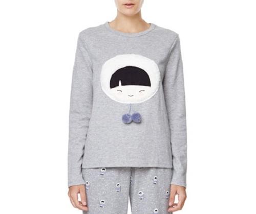 Nuevas camisetas de pijamas en Oysho