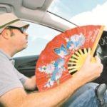 Truco: Como bajar la temperatura del coche en unos pocos segundos