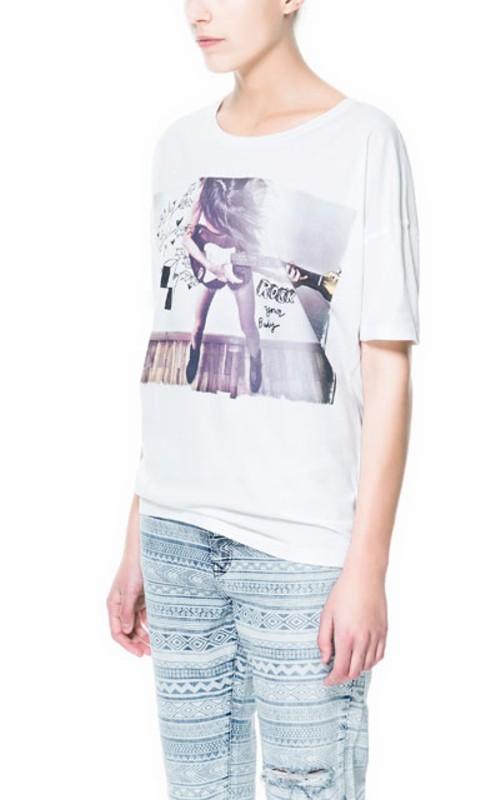 Consigue tu camiseta TRF de Zara